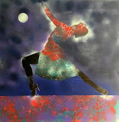 Painting - Monnlight Dance by Brooke Friendly