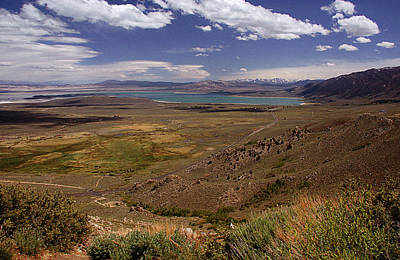 Photograph - Mono Lake And The Sierra Nevada II by Thomas Bomstad