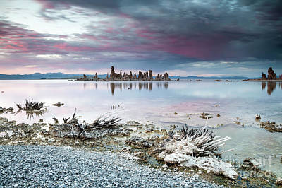 Photograph - Mono Lake At Sunset - 2 by Olivier Steiner