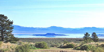 Photograph - Mono Lake Blues by Marilyn Diaz