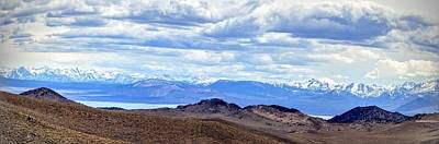 Photograph - Mono Lake From Bodie Hills by AJ Schibig