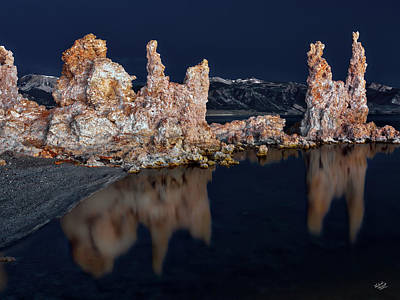 Photograph - Mono Lake Moonlight by Leland D Howard