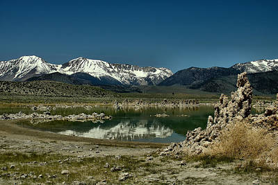 Photograph - Mono Lake Mountains by Michael Gordon