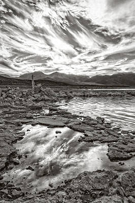 Photograph - Mono Lake Puddles by Wes and Dotty Weber