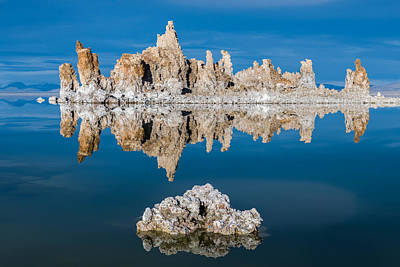 Mono Lake Reflections Art Print by Joseph Smith