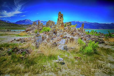 Photograph - Mono Lake, South Tufa's by Craig J Satterlee