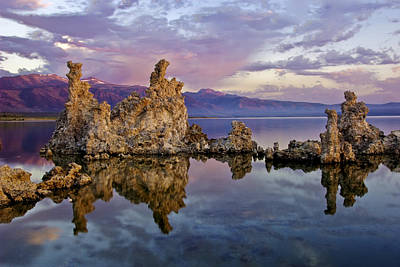 Purple Haze Photograph - Mono Lake Sunset by Dave Dilli