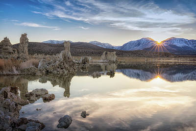Photograph - Mono Lake Sunset by David Cote