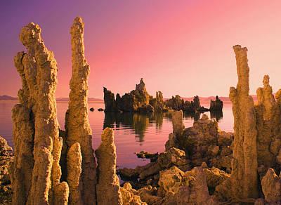 Photograph - Mono Lake Sunset by Tom Kidd
