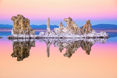Mono Lake Tufa At Dusk Art Print