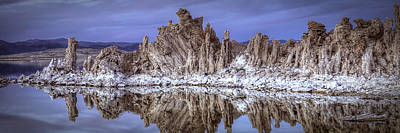 Photograph - Mono Lake Tufa Formations by Robert Melvin