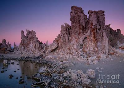 Surreal Landscape Photograph - Mono Lake Tufas by Idaho Scenic Images Linda Lantzy