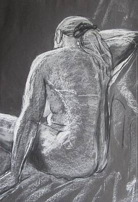 Drawing - Mono Nude by Martin Williams
