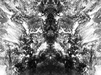 Black And White Digital Art - Monochrome Dream by Sumit Mehndiratta