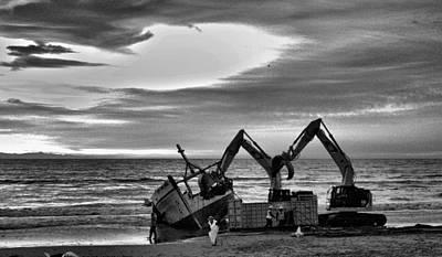 Photograph - Monochrome by Michael Gordon