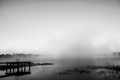 Photograph - Monochrome Mist by Shelby Young