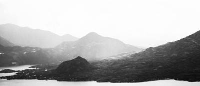 Photograph - Monochrome Mountain Landscape by Shelby Young