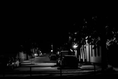 Photograph - Monochrome Night by Leif Sohlman