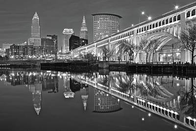 Photograph - Monochrome Reflection by Frozen in Time Fine Art Photography