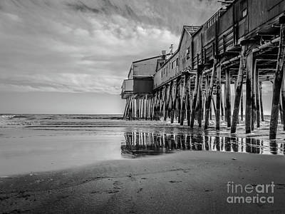Photograph - Monochrome Reflections by Claudia M Photography