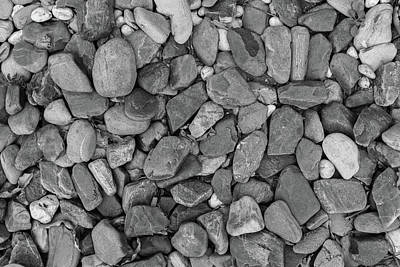 Photograph - Monochrome Rocks by Jingjits Photography