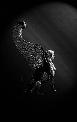 Photograph - Monochrome Sphinx by Laura Greco