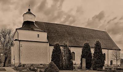 Photograph - Monochrome Svinnegarn M 15 by Leif Sohlman