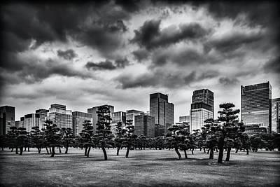 Photograph - Monochrome Tokyo by Yancho Sabev