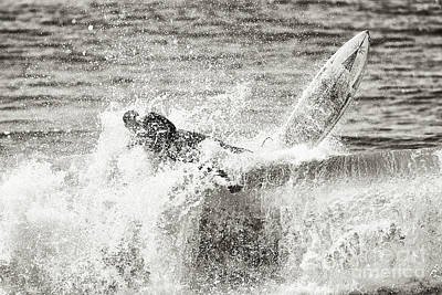 Photograph - Monochrome Wipeout by Nicholas Burningham