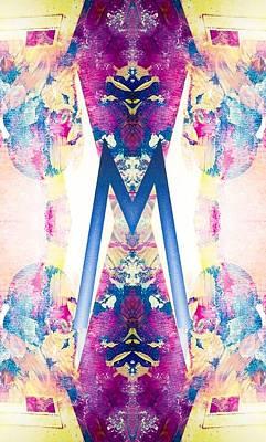 Monogram M - 0 - 8 Art Print