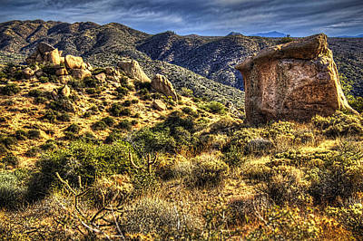 Photograph - Monolith Along A Sears-kay Ruins Trail by Roger Passman