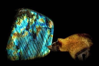 Labradorite Photograph - Monolith by Robert Storost