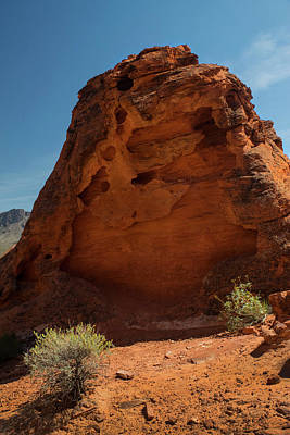 Photograph - Monolith Sculpture Valley Of Fire by Frank Wilson