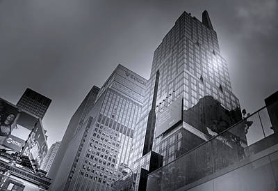 Photograph - Monoliths Of New York City by Mark Andrew Thomas