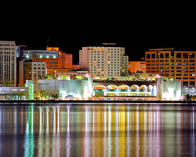 Convention Centers Photograph - Monona Terrace Reflections by Todd Klassy