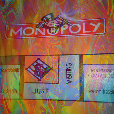 Mixed Media - Monopoly Dream by Kevin Caudill