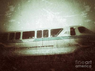 Photograph - Monorail by Jason Nicholas