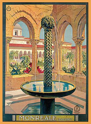 Painting - Monreale Palermo by Vittorio Grassi
