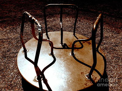 Photograph - Monroe Airplane Park Merry Go Round by Janine Riley