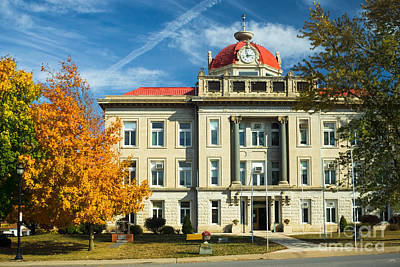 Photograph - Monroe County Courthouse by Imagery by Charly