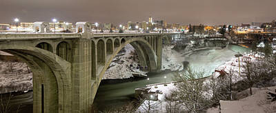 Photograph - Monroe Street Bridge by Paul DeRocker