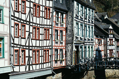 Monschau Hotel Art Print by Pati Photography