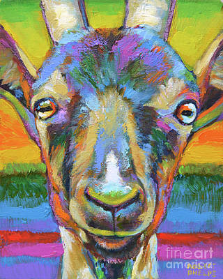 Painting - Monsieur Goat by Robert Phelps