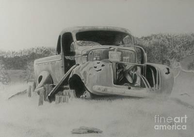 Monsildale Truck Art Print by Robyn Garnet