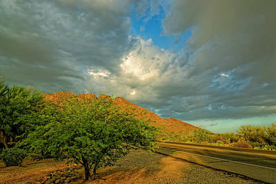 Mark Myhaver Royalty Free Images - Monsoon Cometh h1807 Royalty-Free Image by Mark Myhaver
