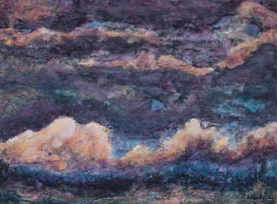 Painting - Monsoon Dusk by Carla Woody