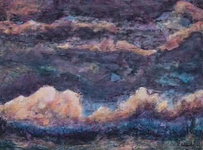 Painting - Monsoon Dusk by Carla Woody
