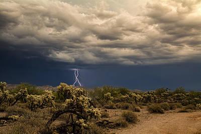 Photograph - Monsoon Magic In The Desert Southwest by Saija  Lehtonen