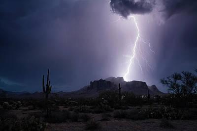 Photograph - Monsoon On The Mountain  by Saija Lehtonen