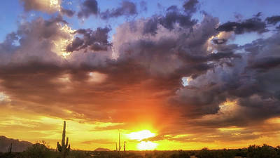 Photograph - Monsoon Sunset by Anthony Citro